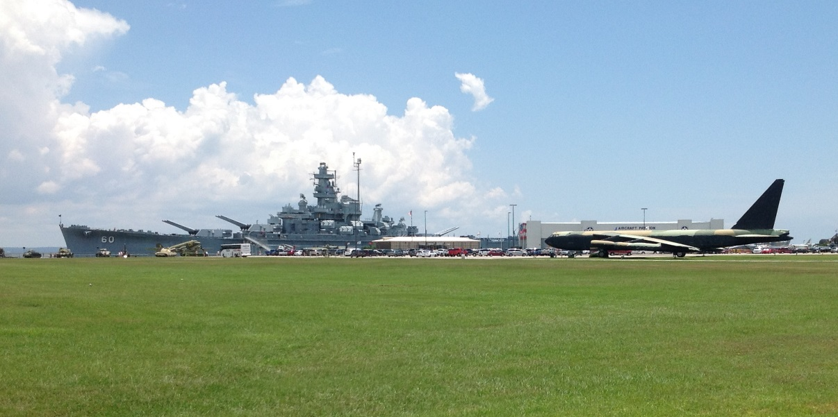 USS Alabama and the B52